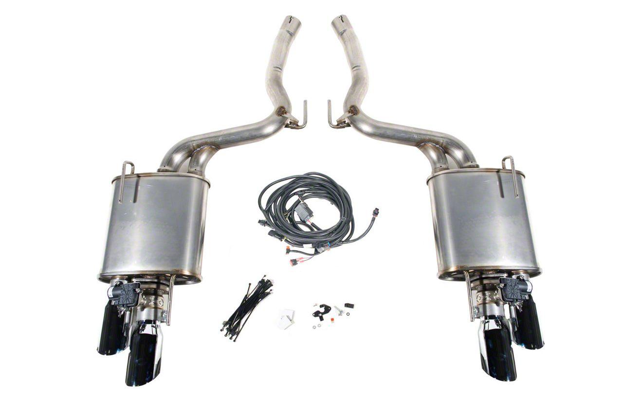Roush Active Lite iO Axle-Back Exhaust (18-19 GT w/o Active Exhaust)