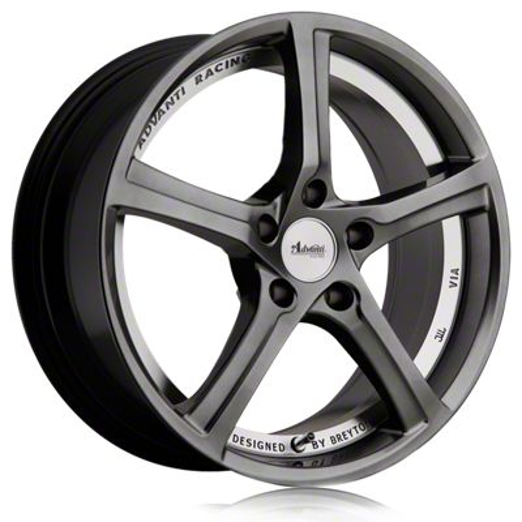 Advanti 15th Anniversary Hyper Dark w/ Machined Undercut Wheel - 18x8 (15-19 EcoBoost, V6)