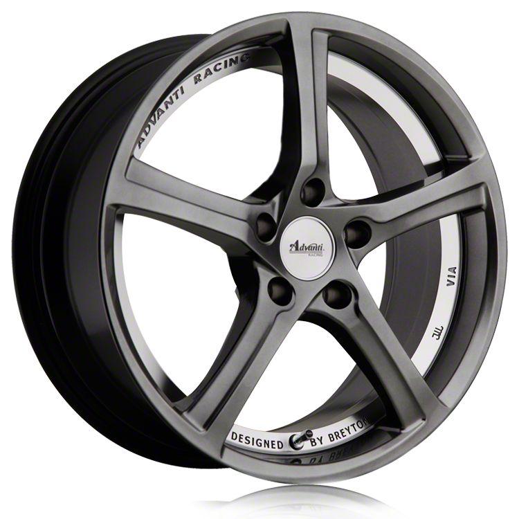 Advanti 15th Anniversary Hyper Dark w/ Machined Undercut Wheel - 20x10 (05-14 Standard GT, V6)