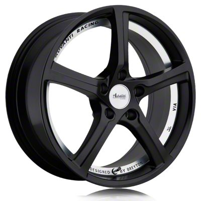 Advanti 15th Anniversary Matte Black w/ Machined Undercut Wheel - 18x8 (05-14 Standard GT, V6)