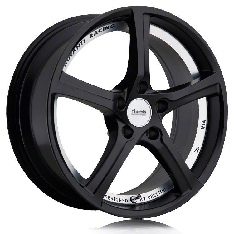 Advanti 15th Anniversary Matte Black w/ Machined Undercut Wheel - 18x8 (15-19 EcoBoost, V6)