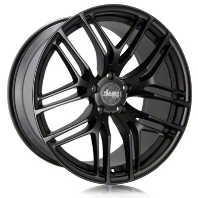 Advanti Bello Matte Black w/ Machined Undercut Wheel - 19x9.5 (05-14 All)