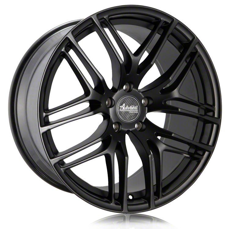 Advanti Bello Matte Black w/ Machined Undercut Wheel - 19x9.5 (15-19 GT, EcoBoost, V6)