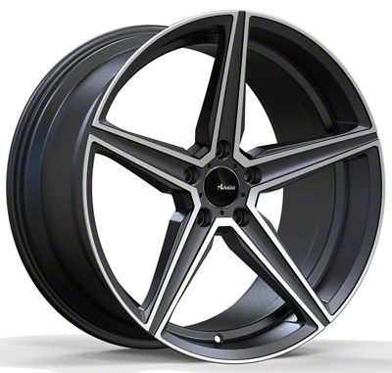 Advanti Cammino Matte Gunmetal w/ Machined Face Wheel - 19x9.5 (15-19 GT, EcoBoost, V6)