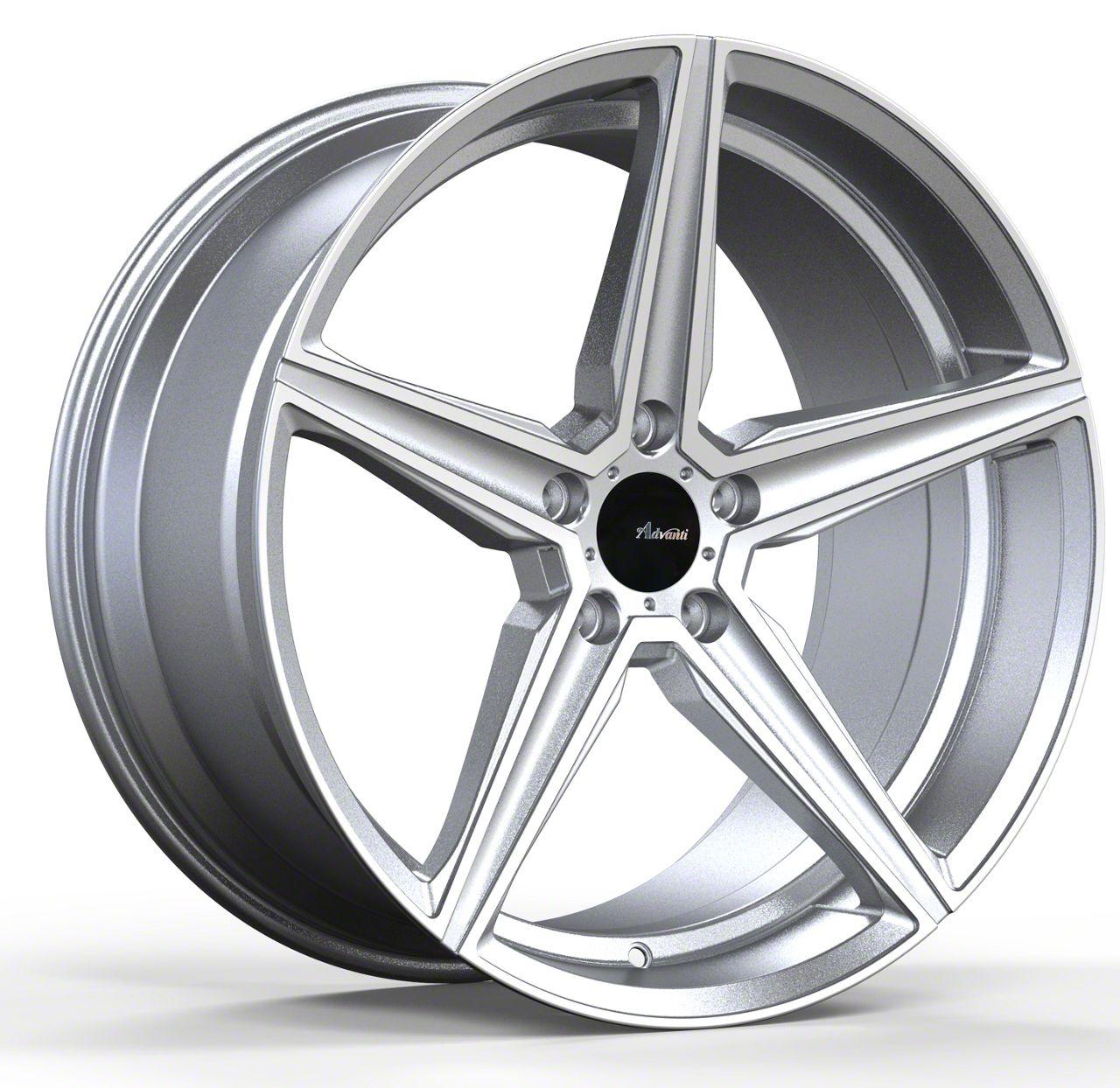 Advanti Cammino Silver w/ Machined Face Wheel - 20x10 (05-14 All)