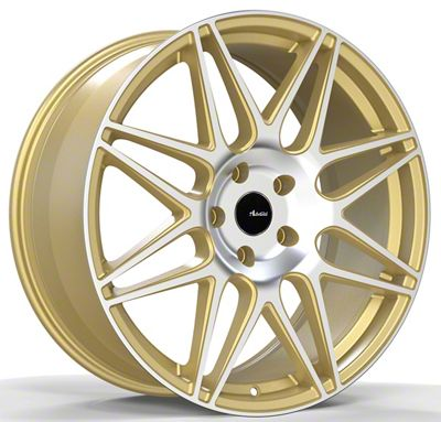 Advanti Classe Gold Machined Face Wheel - 19x9.5 (15-19 GT, EcoBoost, V6)