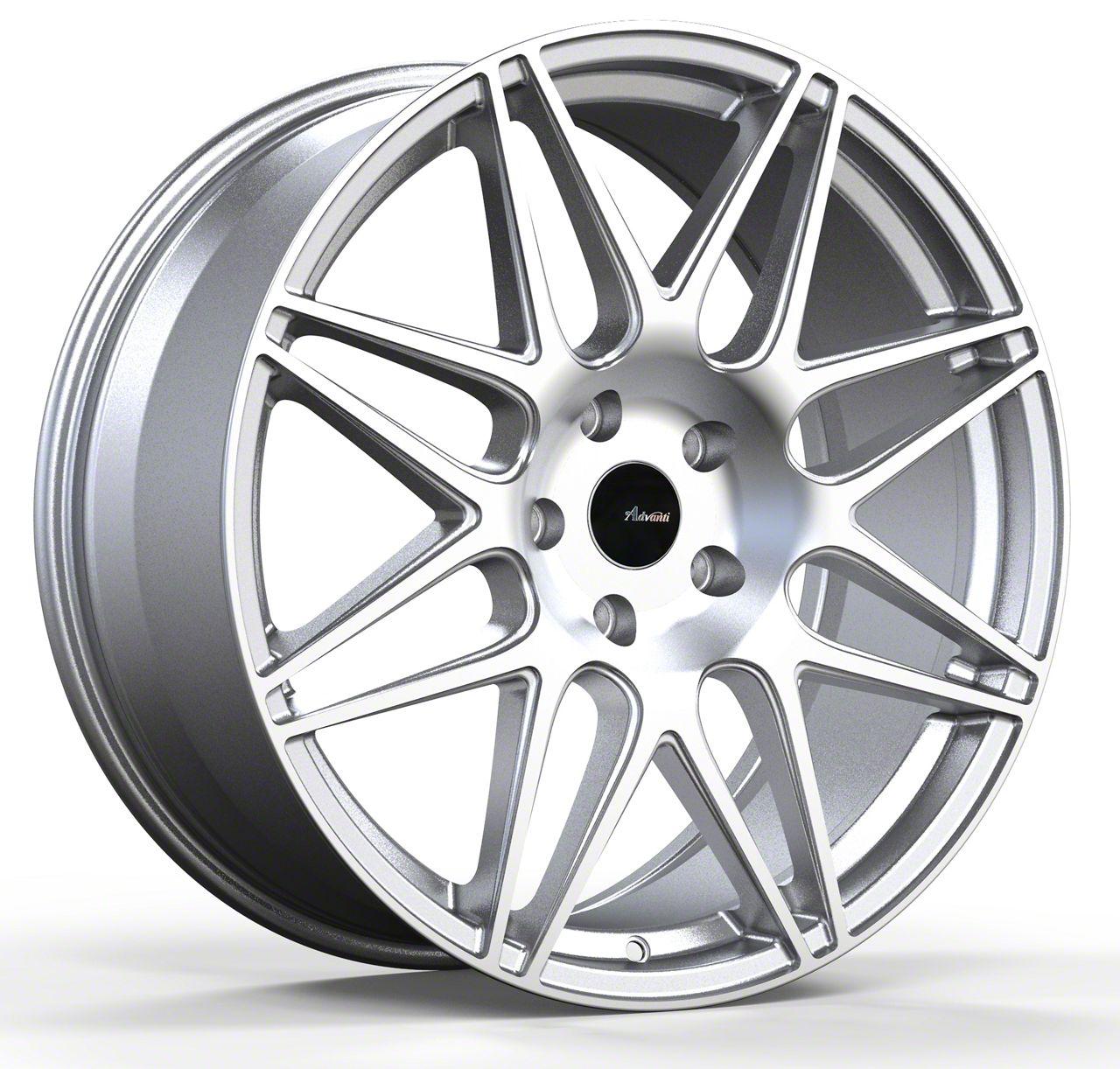 Advanti Classe Silver w/ Machined Face Wheel - 19x9.5 (05-14 All)