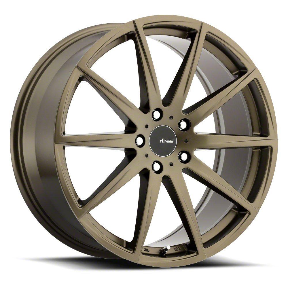 Advanti Dieci Bronze Wheel - 19x8.5 (15-19 GT, EcoBoost, V6)