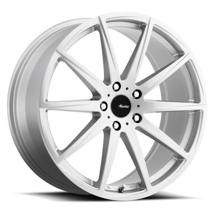 Advanti Dieci Silver Wheel - 18x8 (15-19 EcoBoost, V6)