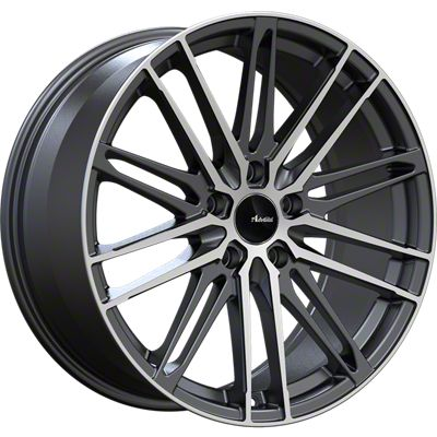 Advanti Diviso Matte Black Machined Wheel - 18x8 (15-19 EcoBoost, V6)