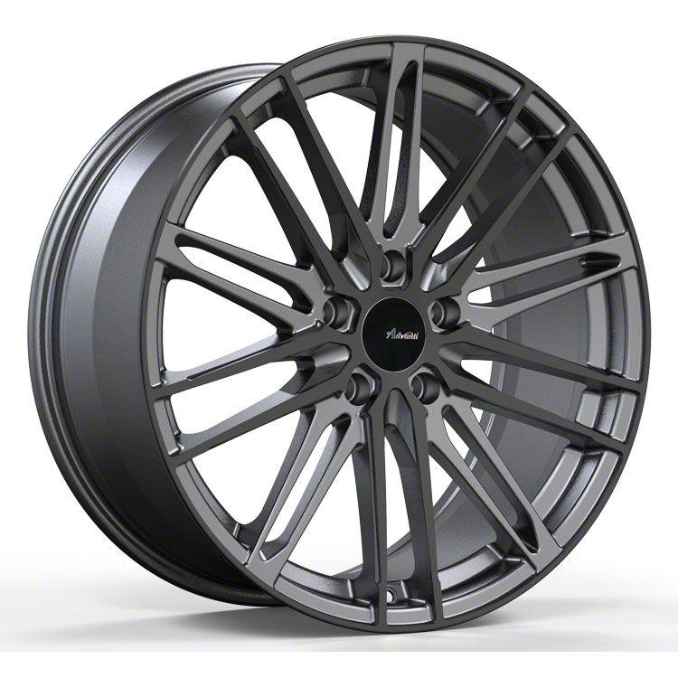 Advanti Diviso Matte Gunmetal w/ Gloss Black Face Wheel - 18x8 (15-19 EcoBoost, V6)