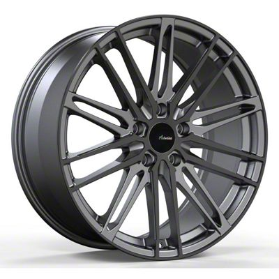 Advanti Diviso Matte Gunmetal w/ Gloss Black Face Wheel - 19x8.5 (05-14 Standard GT, V6)