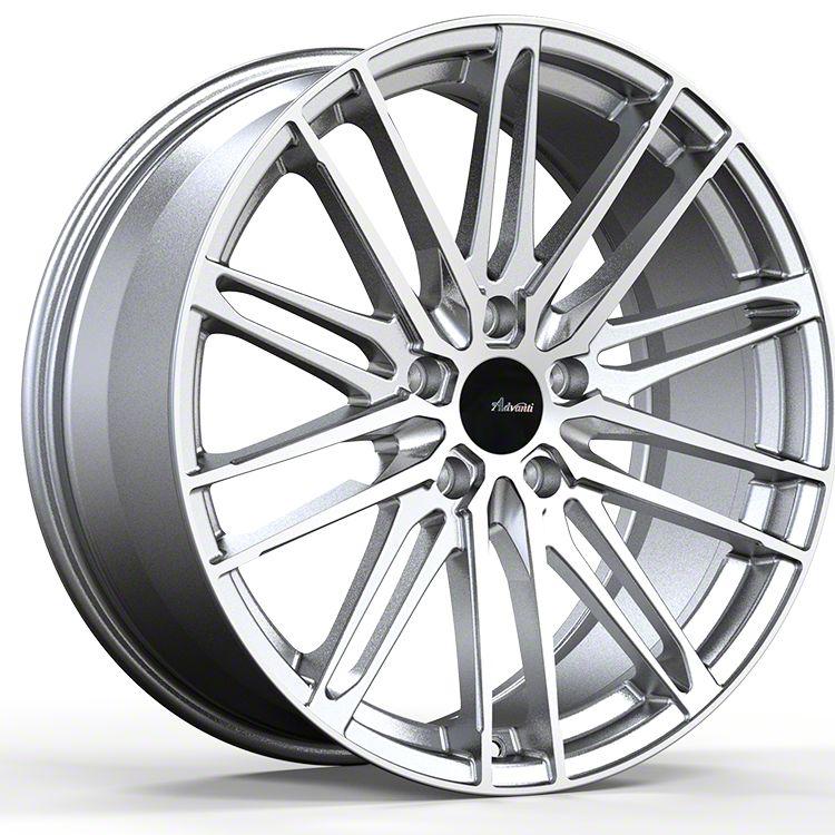 Advanti Diviso Silver w/ Machined Face Wheel - 19x8.5 (15-19 EcoBoost, V6)