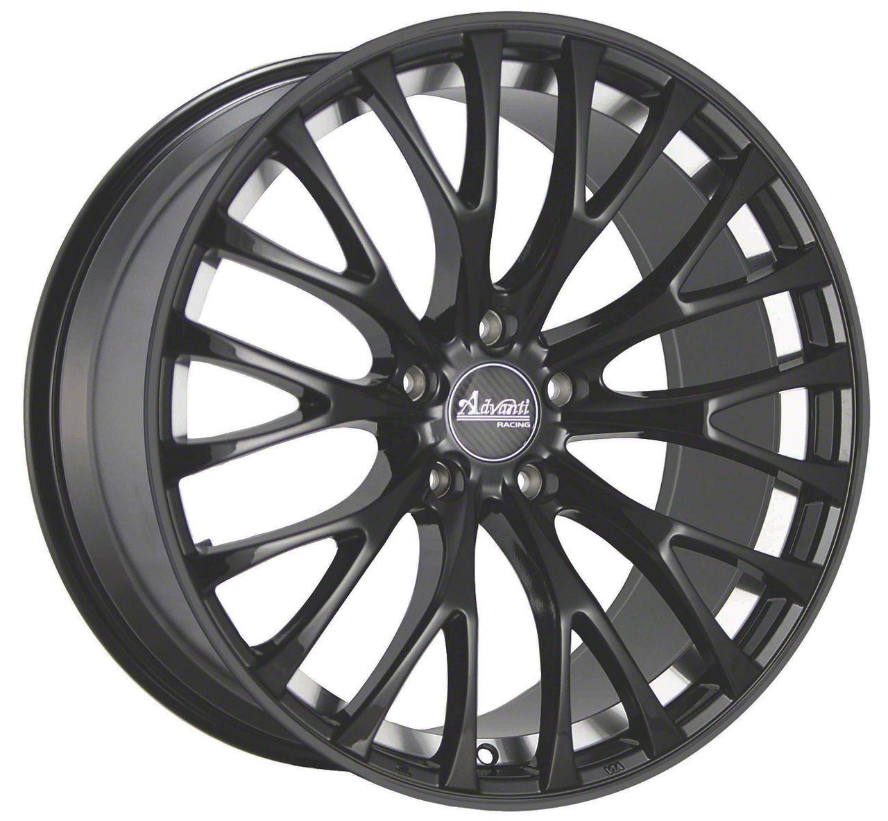 Advanti Fastoso Matte Black w/ Machined Undercut Wheel - 18x8 (15-19 EcoBoost, V6)