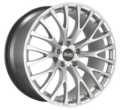 Advanti Fastoso Silver w/ Machined Undercut Wheel - 19x8.5 (15-19 GT, EcoBoost, V6)