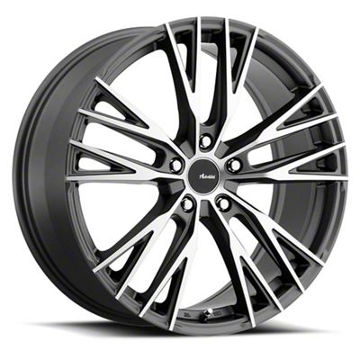 Advanti Forchette Matte Black Machined Wheel - 18x8 (05-14 Standard GT, V6)