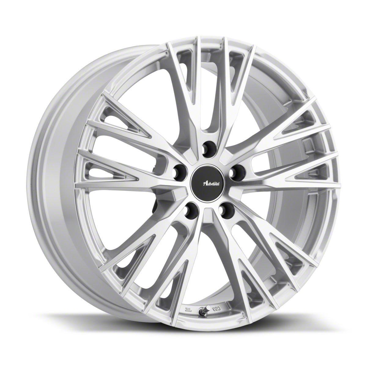 Advanti Forchette Silver w/ Machined Face Wheel - 18x8 (05-14 Standard GT, V6)