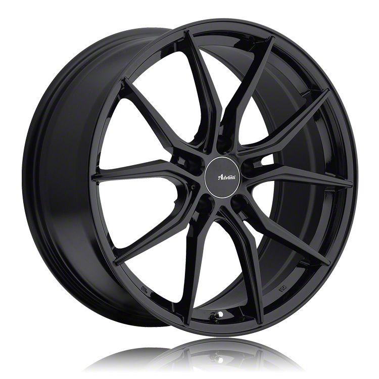 Advanti Hybris Gloss Black Wheel - 18x8 (05-14 Standard GT, V6)