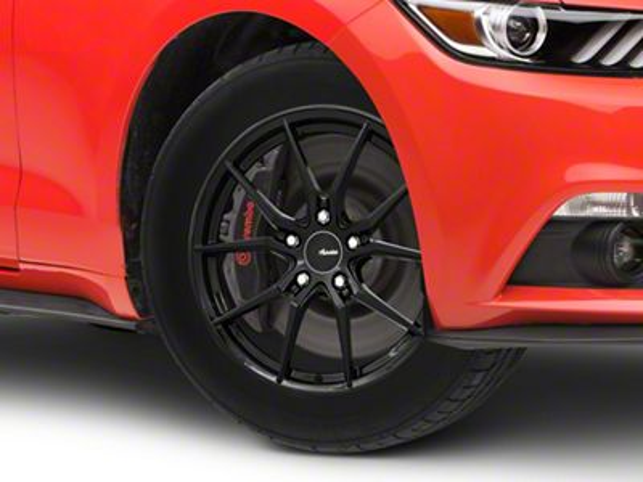 Advanti Hybris Gloss Black Wheel - 18x8 (15-19 EcoBoost, V6)