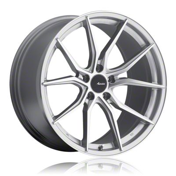 Advanti Hybris Silver Machined Wheel - 19x9.5 (15-19 GT, EcoBoost, V6)