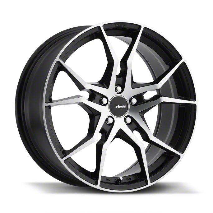 Advanti Hydra Machined w/ Black Accent Wheel - 18x9.5 (05-14 Standard GT, V6)