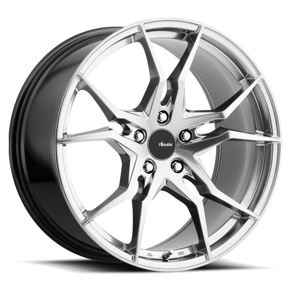 Advanti Hydra Titanium Wheel - 18x9.5 (05-14 Standard GT, V6)