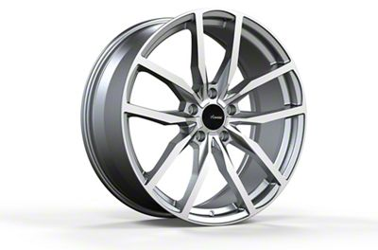 Advanti Rasato Matte Gunmetal w/ Machined Face Wheel - 18x8 (15-19 EcoBoost, V6)