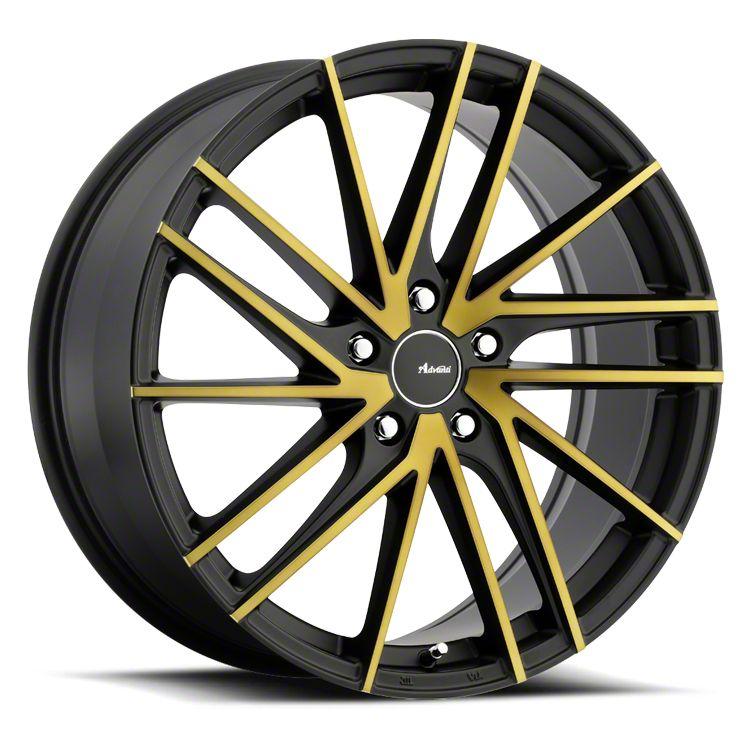 Advanti Turbina Black Machined w/ Bronze Tint Wheel - 18x8 (05-14 Standard GT, V6)