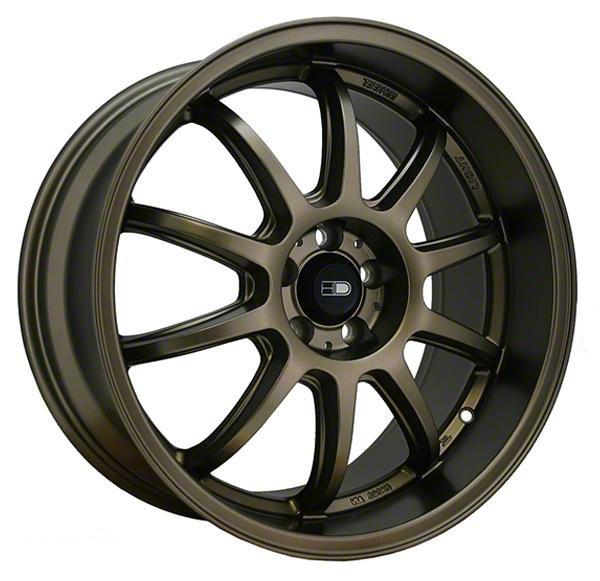 HD Wheels Clutch All Satin Bronze Wheel - 18x9 (05-14 Standard GT, V6)