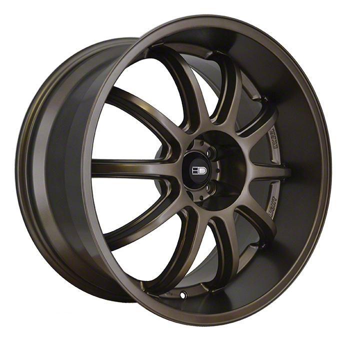 HD Wheels Clutch All Satin Bronze Wheel - 20x10 - Rear Only (05-14 Standard GT, V6)