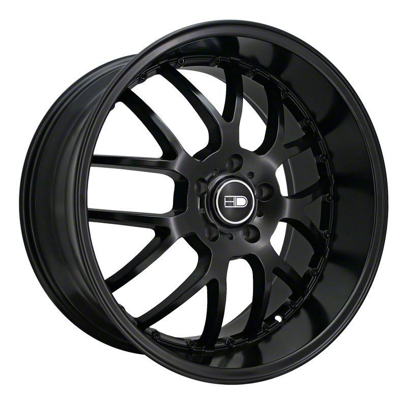 HD Wheels MSR All Satin Black Wheel - 20x10 - Rear Only (05-14 Standard GT, V6)