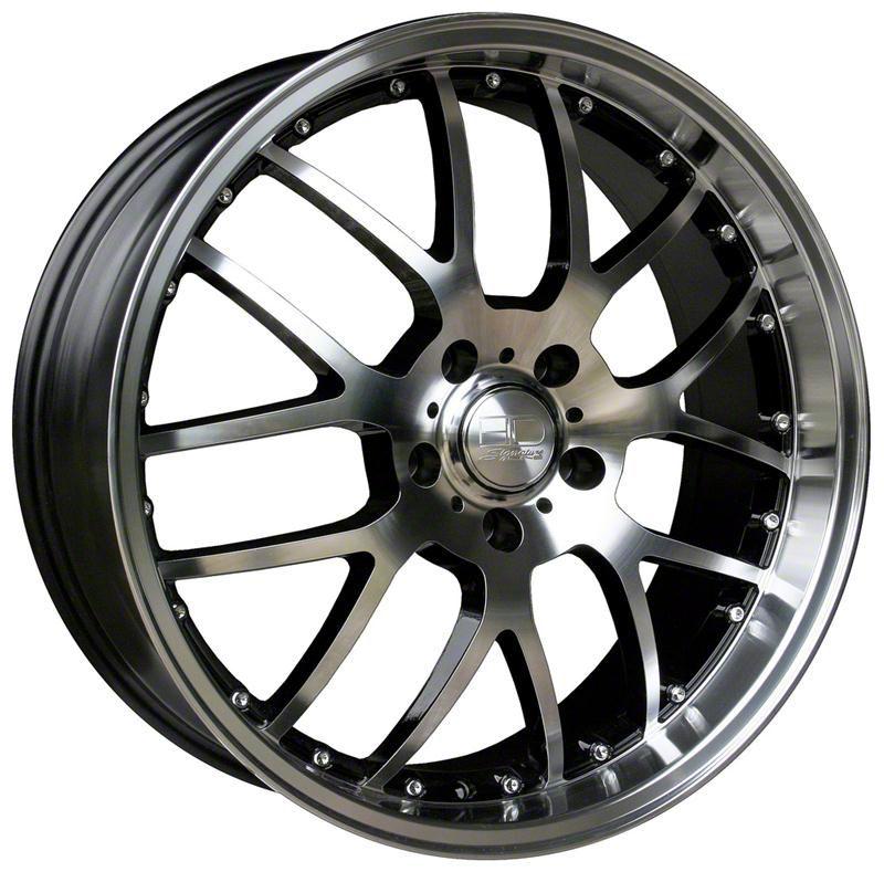 HD Wheels MSR Gloss Black Machined Wheel - 20x10 - Rear Only (05-14 Standard GT, V6)