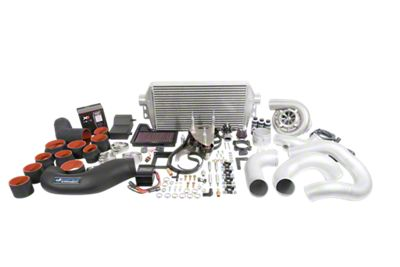 Vortech V-3 JT Supercharger Tuner Kit - Polished (18-19 GT)