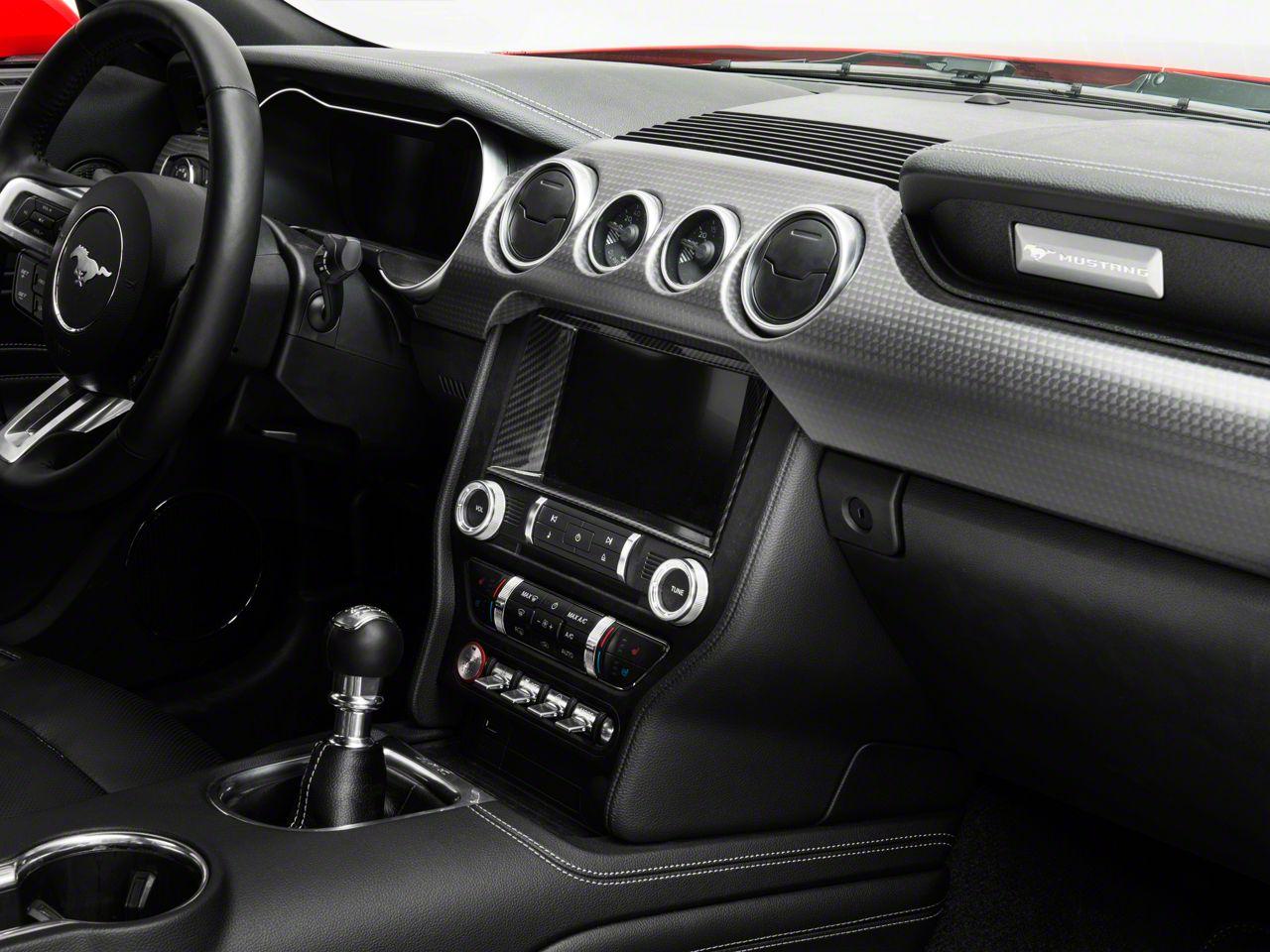 SpeedForm Carbon Fiber Style Touchscreen Bezel (15-19 All)