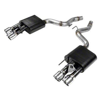 Flowmaster American Thunder Axle-Back Exhaust (18-19 GT w/ Active Exhaust)