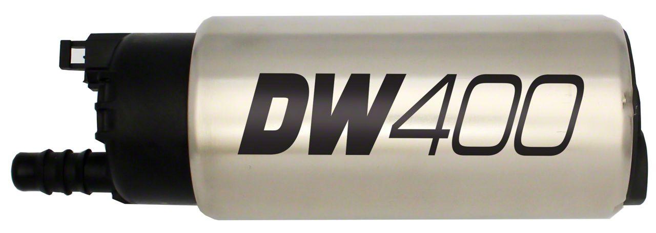DeatschWerks In-Tank Fuel Pump w/ Install Kit - 415 LPH (85-97 GT)