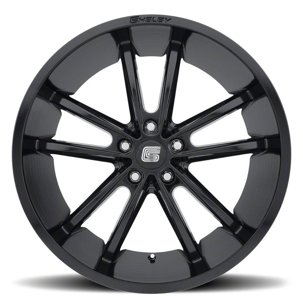 Shelby CS2 Black Wheel - 20x11 - Rear Only (15-19 GT, EcoBoost, V6)