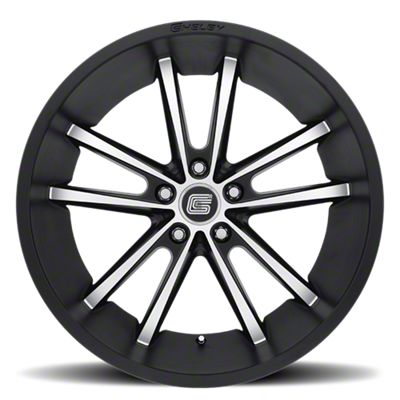 Shelby CS2 Black Machined Wheel - 20x11 (15-19 GT, EcoBoost, V6)
