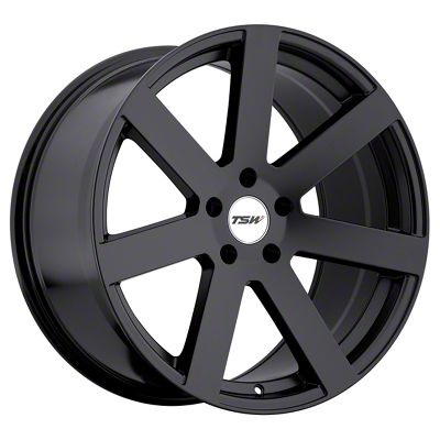 TSW Bardo Matte Black Wheel - 19x8 (15-19 All)