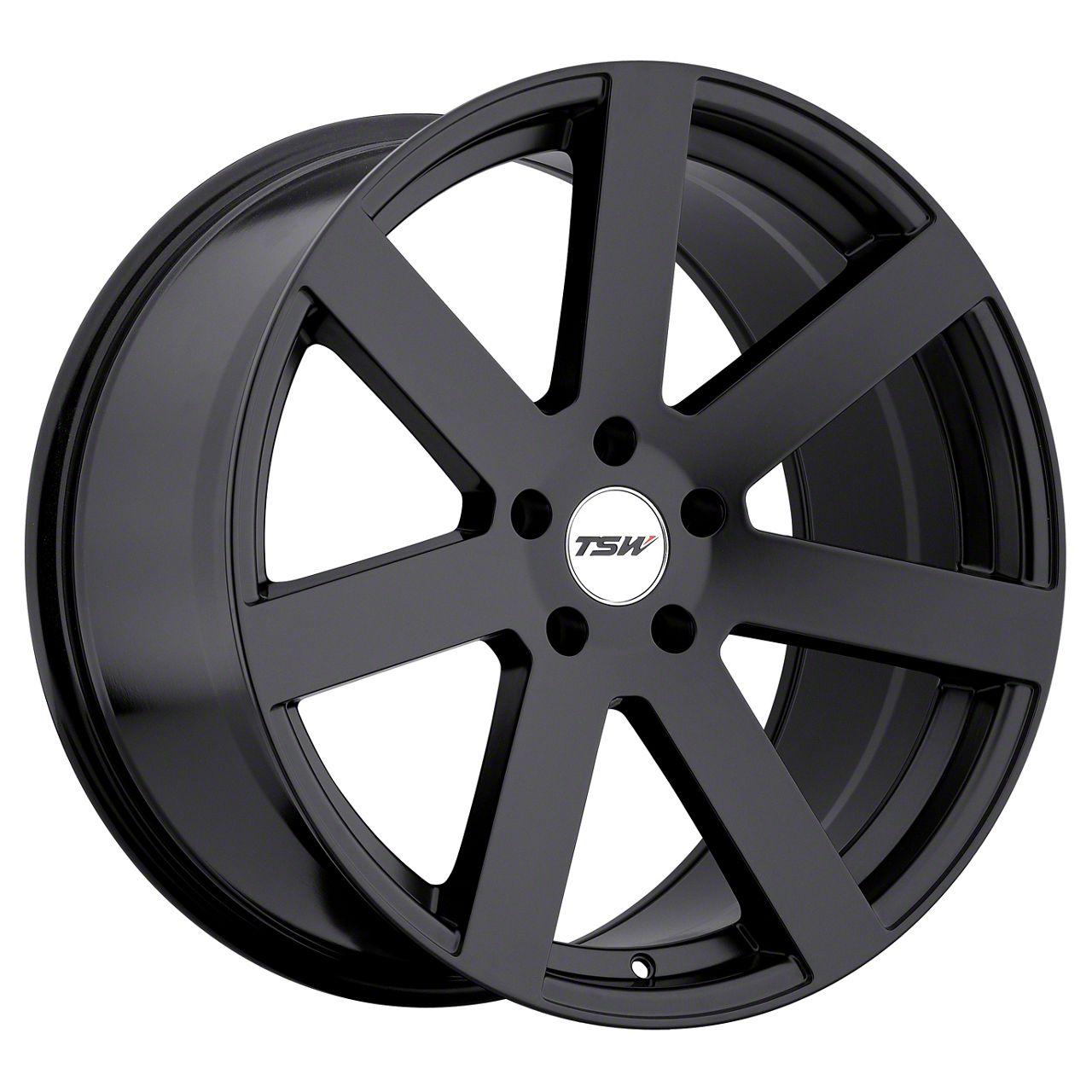 TSW Bardo Matte Black Wheel - 20x10 - Rear Only (15-19 GT, EcoBoost, V6)