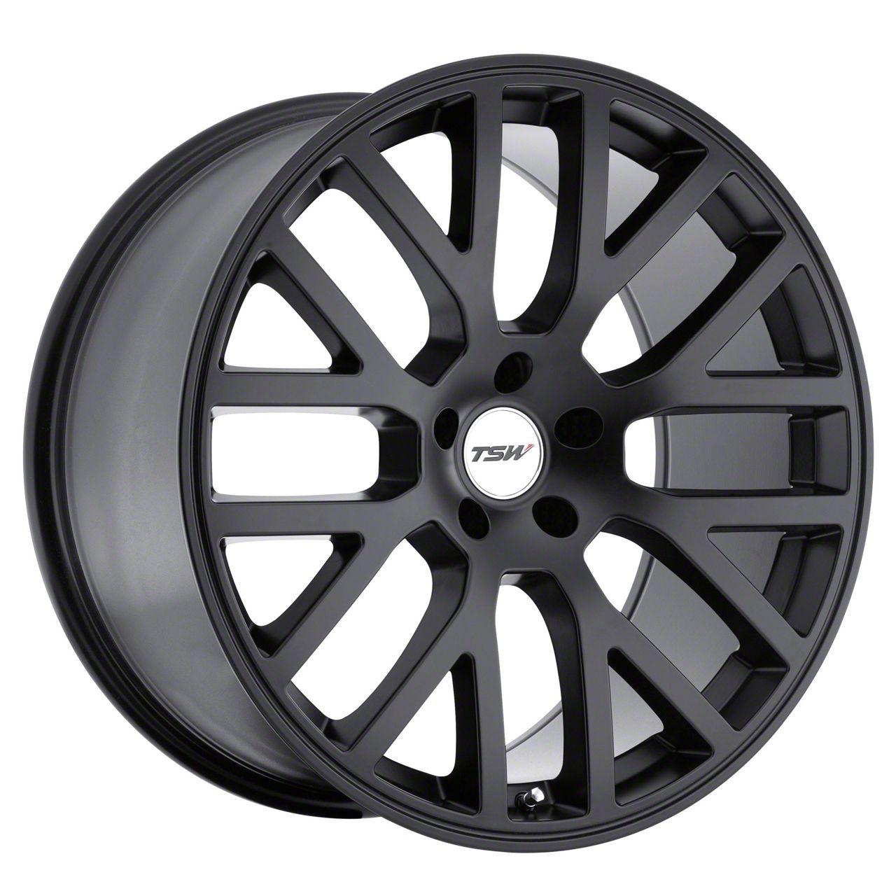 TSW Donington Matte Black Wheel - 19x9.5 (15-19 GT, EcoBoost, V6)