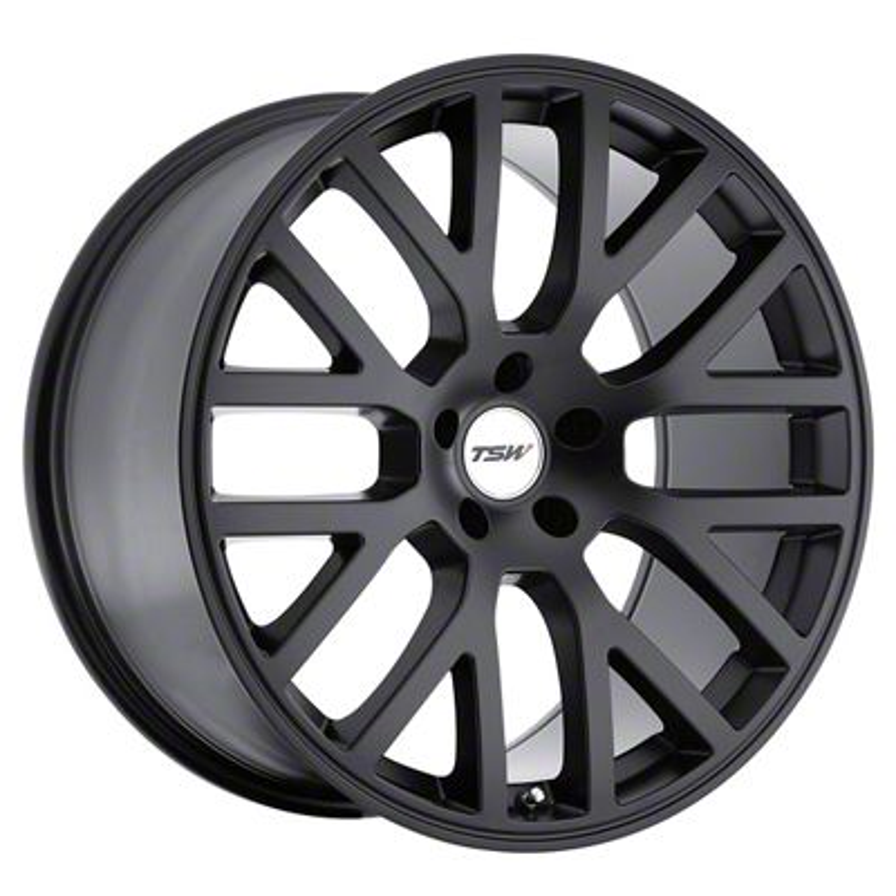 TSW Donington Matte Black Wheel - 20x10 - Rear Only (15-19 GT, EcoBoost, V6)