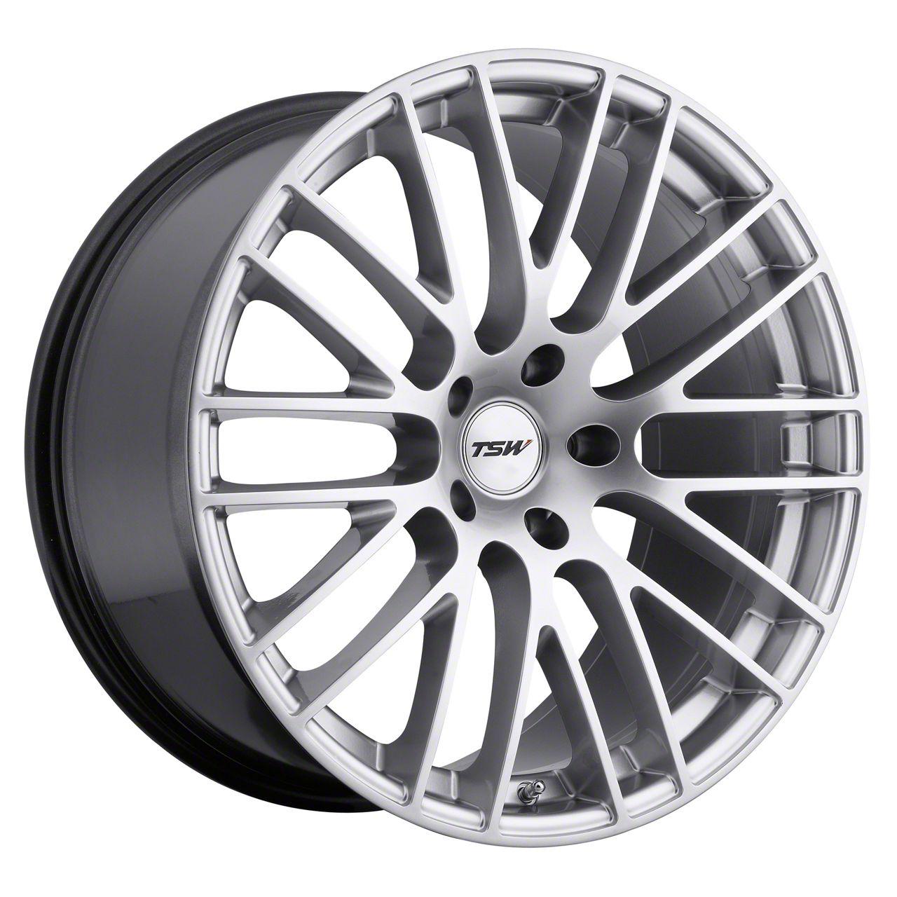 TSW Max Hyper Silver Wheel - 20x10 (05-14 All)
