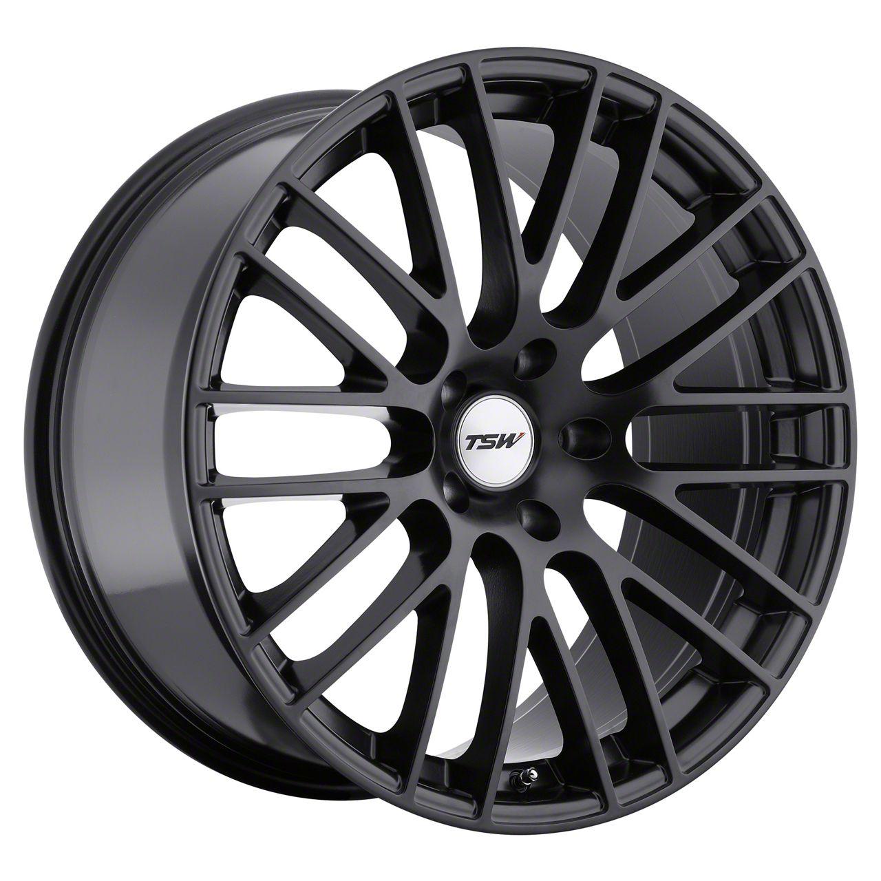 TSW Max Matte Black Wheel - 19x9.5 (15-19 GT, EcoBoost, V6)