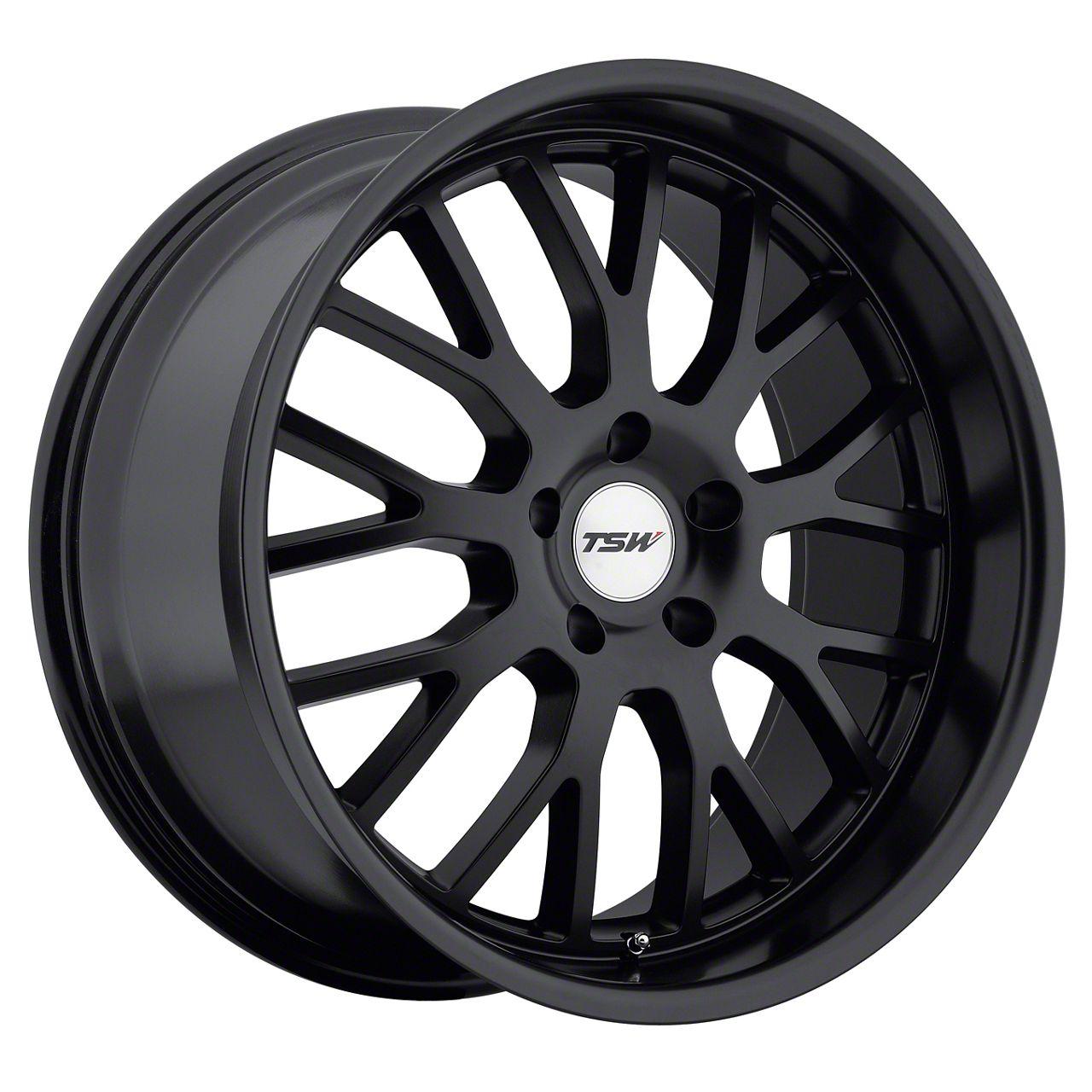 TSW Tremblant Matte Black Wheel - 20x8.5 (15-19 All)