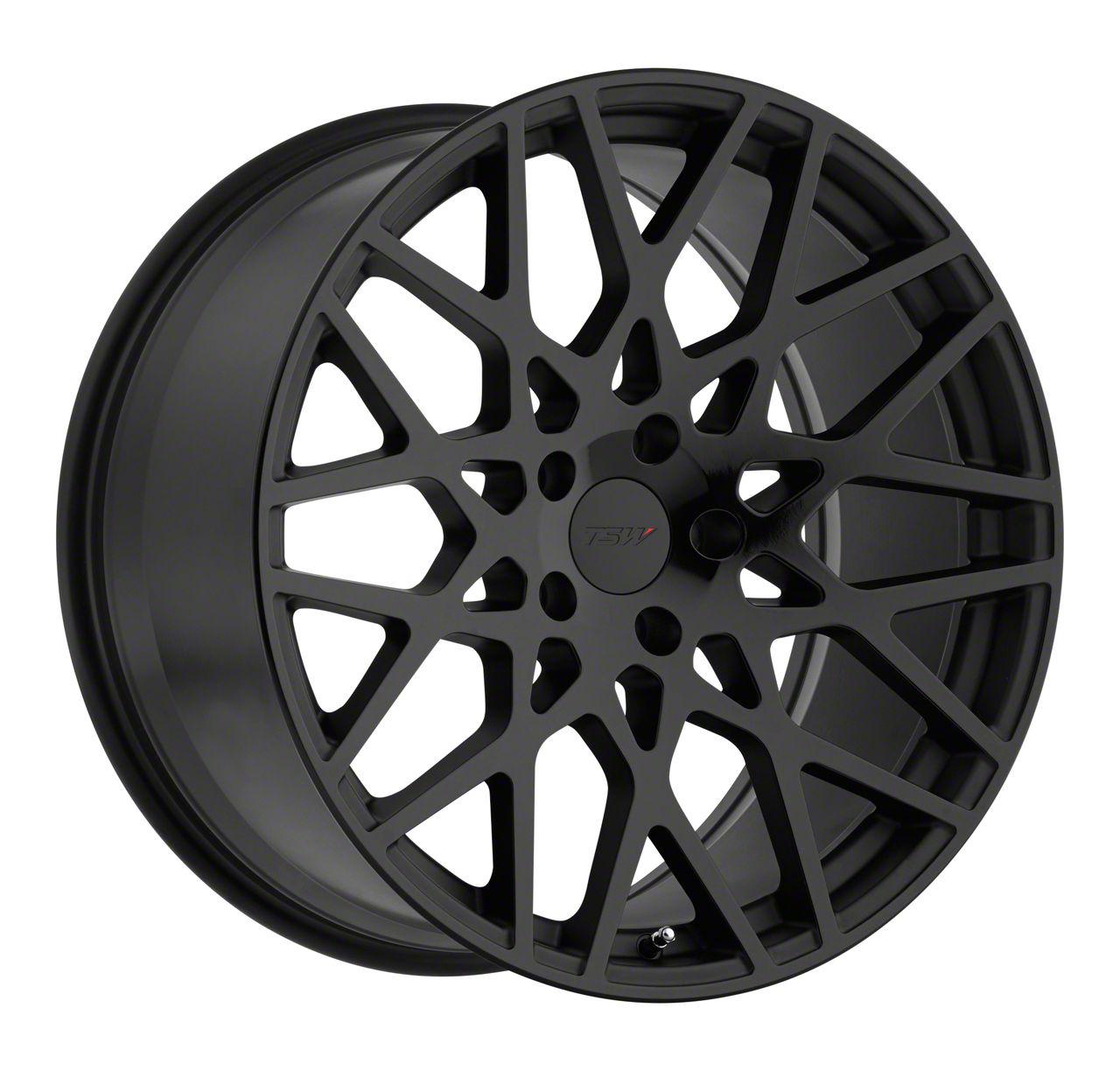 TSW Vale Double Black Wheel - 19x9.5 (15-19 GT, EcoBoost, V6)