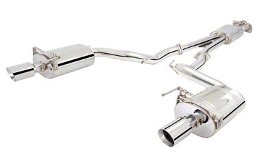 X-Force Cat-Back Exhaust (15-19 EcoBoost Convertible w/o Active Exhaust)