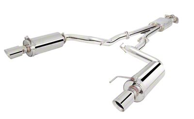 X-Force Cat-Back Exhaust (15-19 EcoBoost Fastback w/o Active Exhaust)