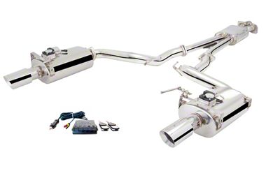X-Force Varex Cat-Back Exhaust (15-19 EcoBoost Convertible w/o Active Exhaust)