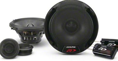 Alpine R-Series 5-1/4 in. Component 2-Way Speaker System - 100W (82-93 All)